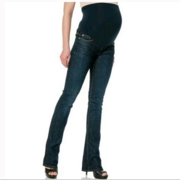 Hudson Secret Fit Belly Bootcut Maternity Jeans